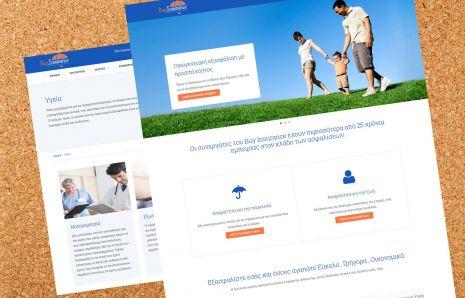 Κατασκευή Ιστότοπου buyinsurance.gr για αγορα ασφαλιστικών προϊόντων