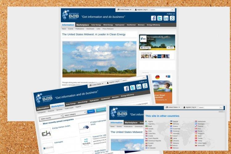 RenewablesB2B – Ανάπτυξη και λειτουργία κόμβου υποστήριξης υπηρεσιών